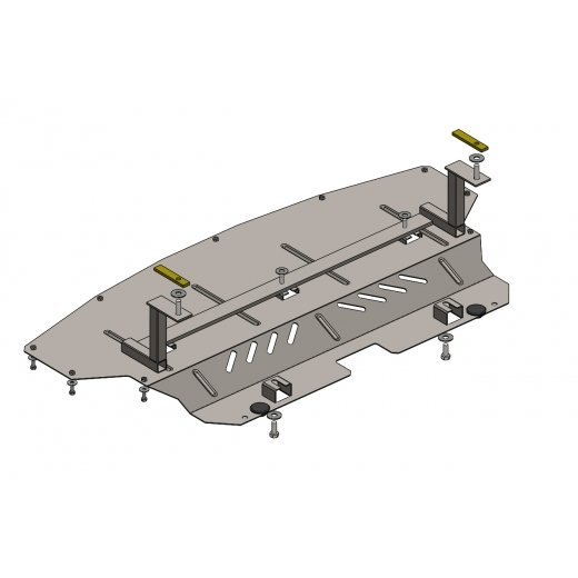 Защита радиатора Kolchuga, BMW X1  (1.0547.00)