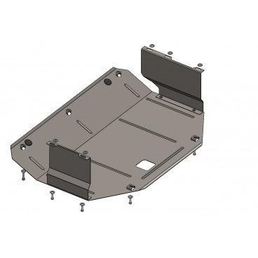 Защита картера Kolchuga, КПП Jac S5 (1.0550.00)