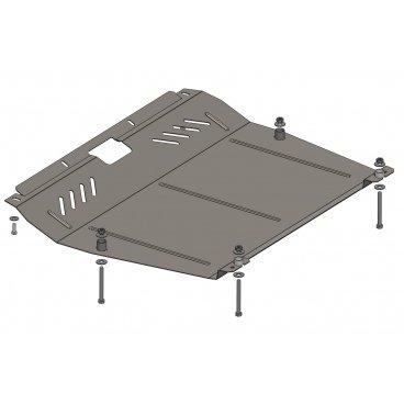 Защита картера Kolchuga, КПП BYD S6 (1.0408.00)