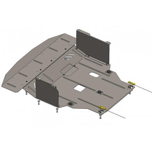 Защита картера Kolchuga, Hyundai I40 (1.0437.00)