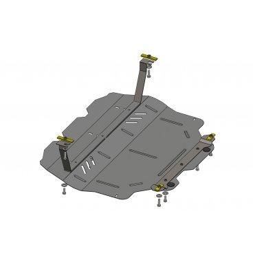 Защита картера Kolchuga, КПП VW CADDI 2012 (с вебасто) (1.0442.00)