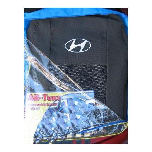 Чехлы на сиденья АВ-Текс Hyundai Accent II (комфорт)