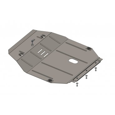 Защита картера Kolchuga, MG 350  2012+ (1.0449.00)