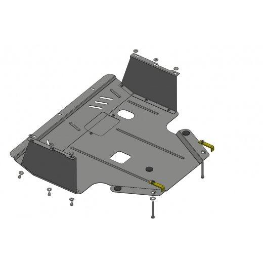 Защита картера Kolchuga, Hyundai I20 2012+ (1.0450.00)
