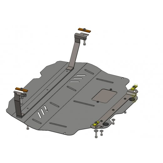 Защита картера Kolchuga, КПП VW CADDI (с вебасто) (1.0456.00)