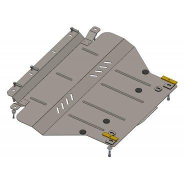 Защита картера Kolchuga, КПП Citroen C5(X7) (1.0304.00)
