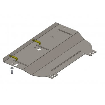 Защита картера Kolchuga, КПП Citroen C3 Picasso (1.0318.00)