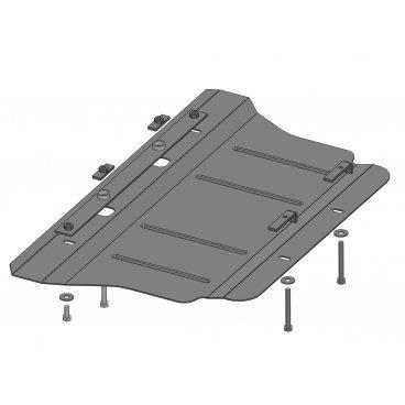 Защита картера Kolchuga, Hyundai Genesis 3.8 (1.0247.00)