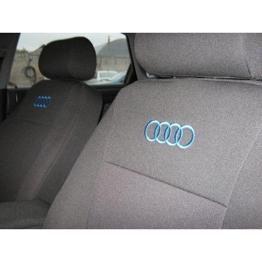 Чехлы на сиденья EMC Elegant Classic Audi А-6 (C5) c 1997-2004 г. цельная спинка