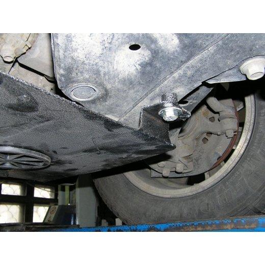 Защита картера Kolchuga, КПП Toyota Aurion (1.0092.00)