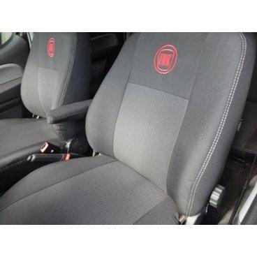 Чехлы на сиденья EMC Elegant Classic Fiat Doblo (1+1) c 2010 г.