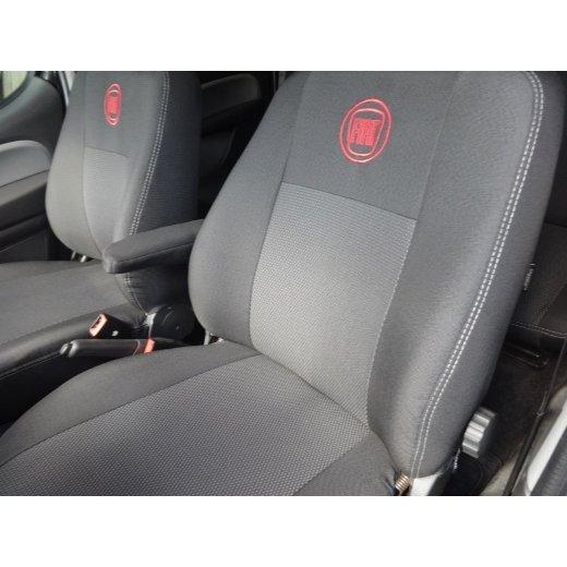 Чехлы на сиденья EMC Elegant Classic Fiat Doblo Combi с 2010 г.