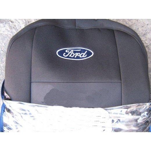 Чехлы на сиденья EMC Elegant Classic Ford Tourneo Custom (8 мест) c 2013 г.