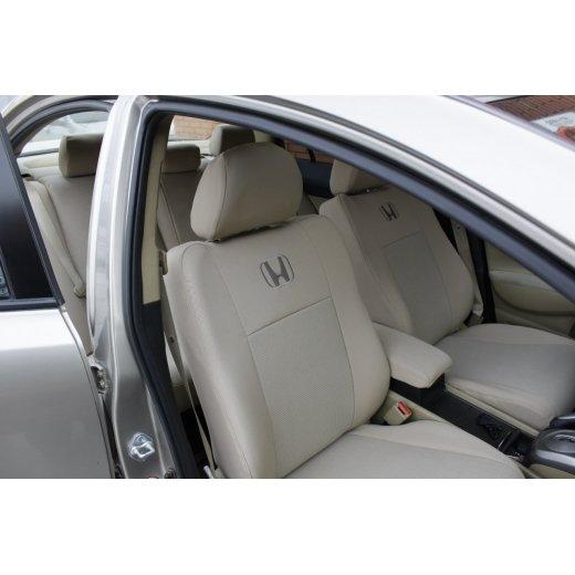 Чехлы на сиденья EMC Elegant Classic Honda CR-V с 2012 г.