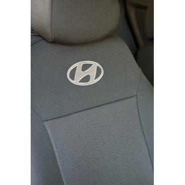 Чехлы на сиденья EMC Elegant Classic Hyundai Accent (раздельная) с 2010 г.