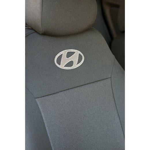 Чехлы на сиденья EMC Elegant Classic Hyundai Accent (цельная) с 2010 г.