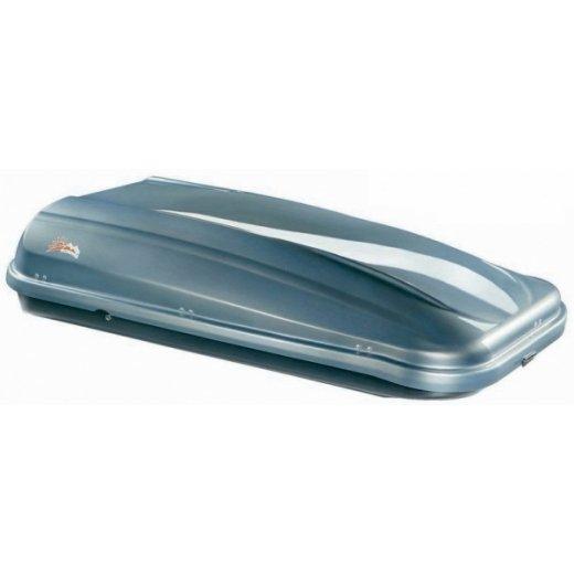 Бокс на крышу Junior PRE 530 (серебро/черный)