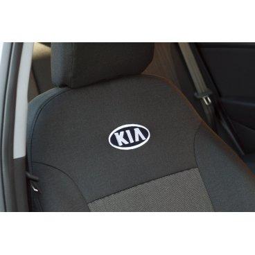 Чехлы на сиденья EMC Elegant Classic Kia Rio III Sedan (деленная) с 2011 г.