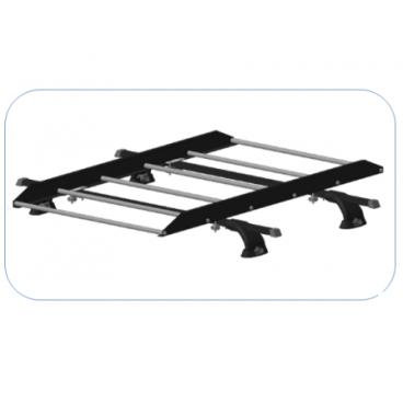 Багажная решетка Десна-Авто на крышу автомобиля (К2, К3, К4)