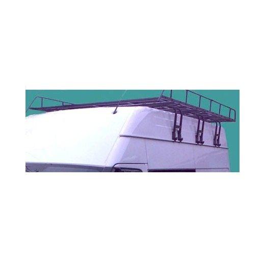 Багажная решетка Десна-Авто на крышу микроавтобуса и Газели (усиленная, разборная)