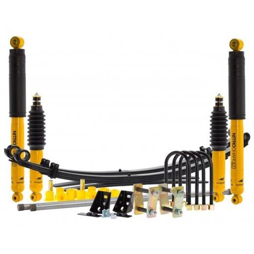 Комплект подвески Оld Мan Еmu sport для Mazda BT-50 2011г.→, (металлический бампер с лебедкой) lift +50mm, +100кг