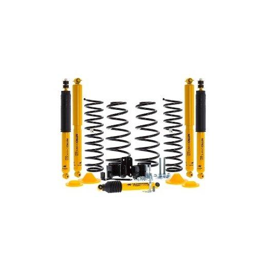 Комплект подвески Оld Мan Еmu sport для Jeep Wrangler JK2007г.→ Unlimited,lift +50mm,+100кг(металлический бампер с лебедкой)