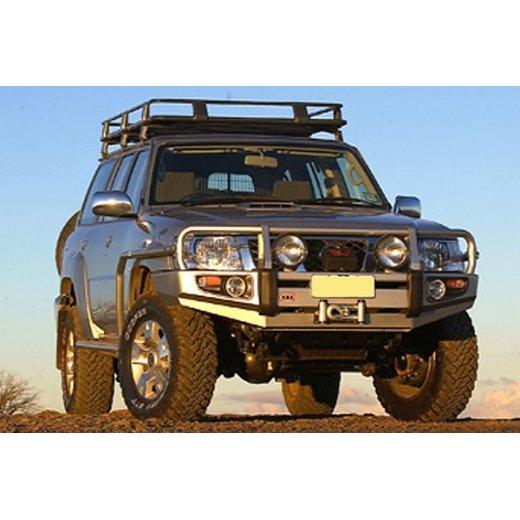 Передний бампер ARB Deluxe на Nissan Patrol Y61 2004г.→ (3417210)