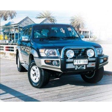 Передний бампер ARB Sahara на Nissan Patrol GU-Y61 W/FLARES 1998-2004г. (3917130)