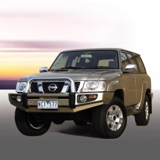 Передний бампер ARB Sahara на Nissan Patrol GU-Y61 2004-2010г. (3917140)