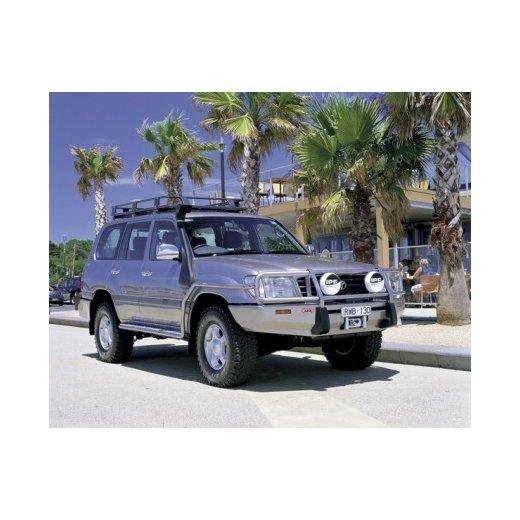 Передний бампер ARB Deluxe Combination Toyota LC100/105 под лебедки (до 9000lb)1998-2002г.(3413050)