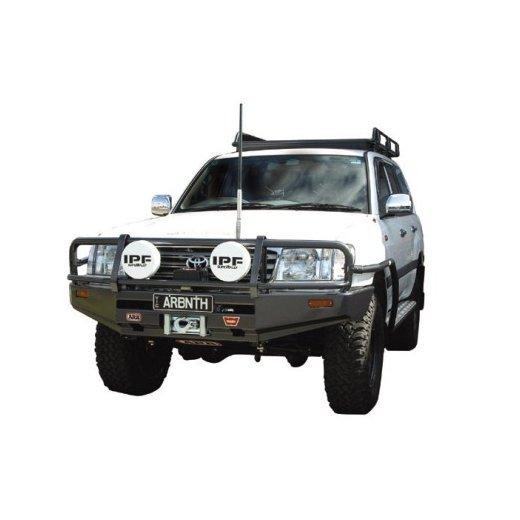Передний бампер ARB Deluxe на Toyota LC100/105 2002-2007г. Commercial под лебедку (3413110)