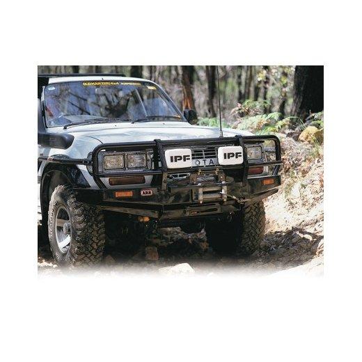 Передний бампер ARB Deluxe на Toyota под лебедку LC80 1990-1997г. (3411050)