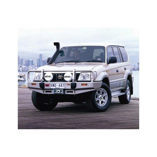 Передний бампер ARB Deluxe на Toyota Prado 90 2000-2003г.  Combination под лебедку (3421040)