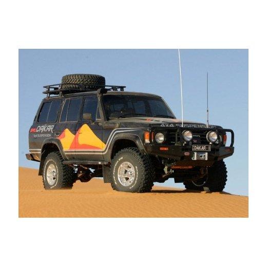 Передний бампер ARB Deluxe на Toyota LC60 Dakar type под лебедку 1980-1990г. (3410100)