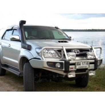 Передний бампер ARB Deluxe на Toyota Fortuner 2003-2006г. под лебедку (3421300)