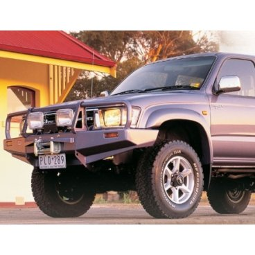 Передний бампер ARB Deluxe на Toyota Hilux/Tiger/Vigo 1997-2002г. под лебедку (3414140)