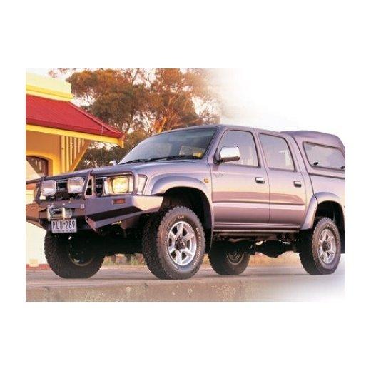 Передний бампер ARB Deluxe на Toyota Hilux/Tiger/Vigo 1997-2002г. под лебедку с противотуманками (3414160)