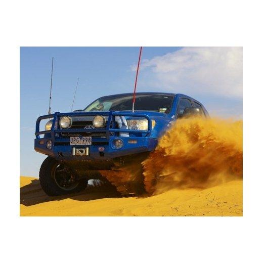 Передний бампер ARB Deluxe на Toyota Tundra 2007г.→под лебедку (3415010)