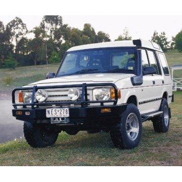 Передний бампер ARB Deluxe на Land Rover Discovery I (1989-1998г.) под лебедку, с подушками безопасности (3432050)
