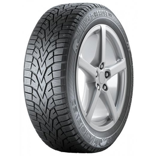 Шина Gislaved NordFrost 100 95T XL TL (шип), 215/50R17
