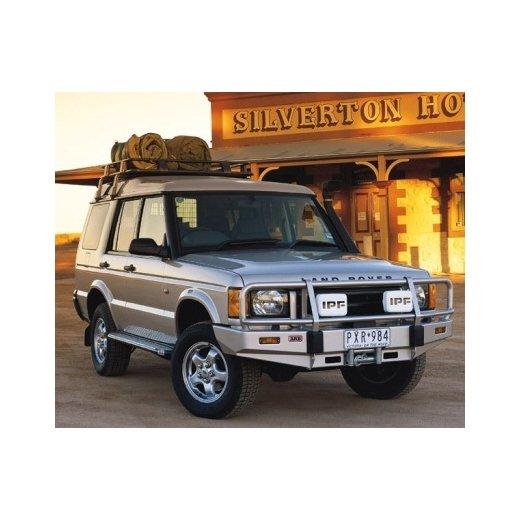Передний бампер ARB Deluxe на Land Rover Discovery II 1999-2002г под лебедку (3432060)