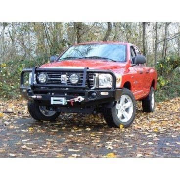 Передний бампер ARB Deluxe на Dodge RAM 1500/2500/3500  2006-2014г под лебедку (3452030)