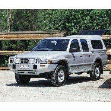 Передний бампер ARB Deluxe на Ford Courier 1999-2007г под лебедку (3440050)