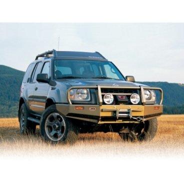 Передний бампер ARB Deluxe на Nissan Frontier 1997-2014г. под лебедку (3438110)