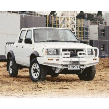 Передний бампер ARB Deluxe на Nissan Navara D22 1997-2002г. под лебедку (3438060)