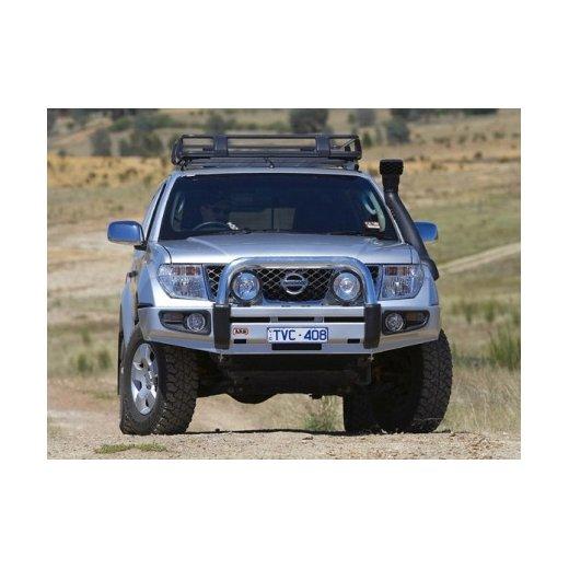 Передний бампер ARB Sahara на Nissan Navara 2005-05/2010г.(сделано в Испании)(3938130)