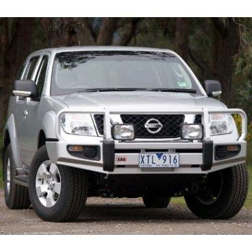 Передний бампер ARB Deluxe на Nissan Navara D40 STX Spain 2010-2014г. под лебедку (3438340)