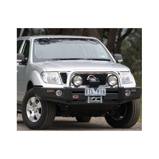 Передний бампер ARB Sahara на Nissan Navara D40 STX Spain 2010-2014 (сделано в Испании)(3938160)