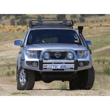 Передний бампер ARB Sahara на Nissan Pathfinder R51 2005-2010г. (3938130) (сделано в Испании)