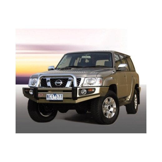 Передний бампер ARB Sahara на Nissan Partol GU Y61 2004-2014г (3917140)